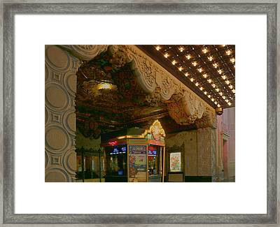 Box Office Framed Print by Bill Jonas