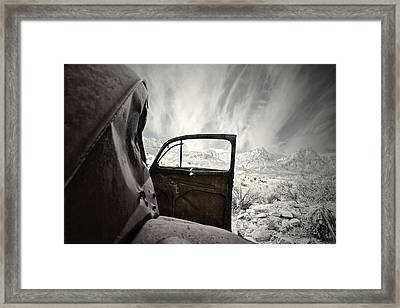 Box Seats Framed Print