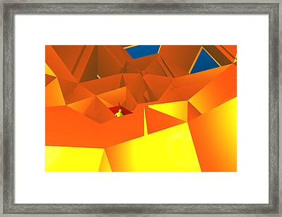 Boxed In Framed Print by Carol and Mike Werner