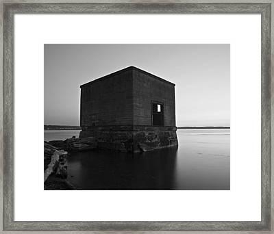 Boxed Framed Print by Kjirsten Collier
