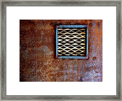 Boxed Framed Print by Lin Haring