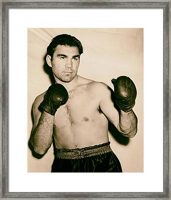 Boxer Max Schmeling - 1930s Framed Print