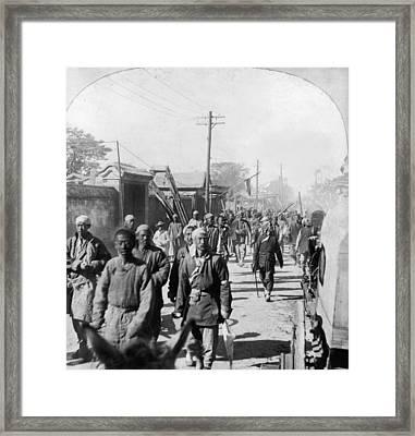 Boxer Rebellion, C1901 Framed Print by Granger