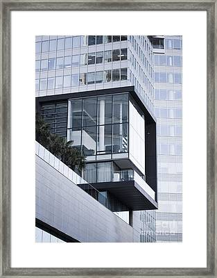 Boxes In Boxes Framed Print by Chris Dutton