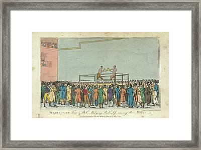 Boxing Framed Print by British Library