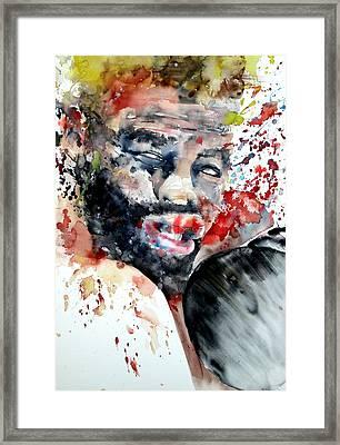 Boxing II Framed Print by Fabrizio Cassetta