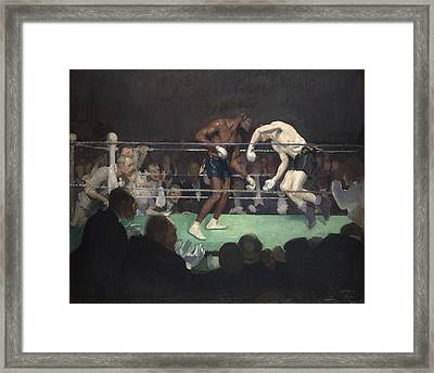 Boxing Match, 1910 Framed Print by George Luks