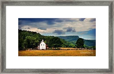 Boxley Valley Church Framed Print