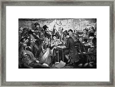 Boy Thief Framed Print by British Library