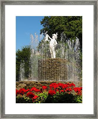 Boy With The Boot 3 Framed Print
