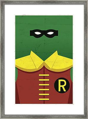 Boy Wonder Framed Print