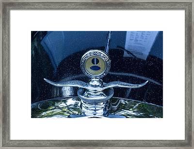 Boyce Motormeter Framed Print