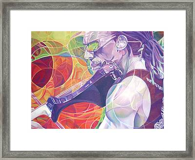 Boyd Tinsley And Circles Framed Print