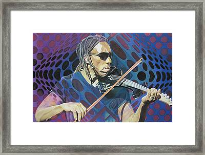 Boyd Tinsley Pop-op Series Framed Print