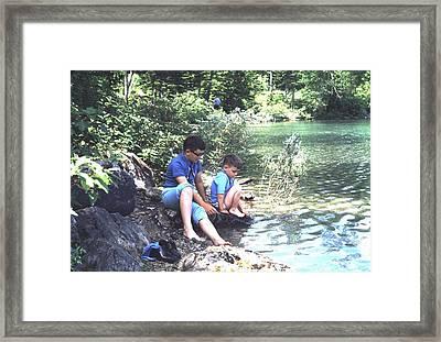 Boyhood Memories No.1 Framed Print