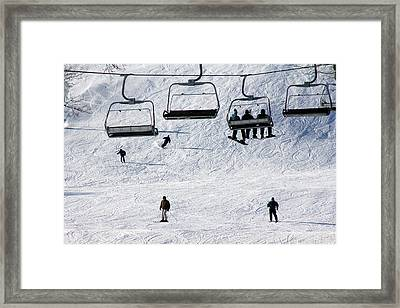 Boyne Mountain Framed Print