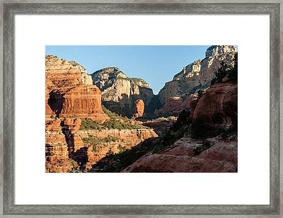Boynton Canyon 04-717 Framed Print