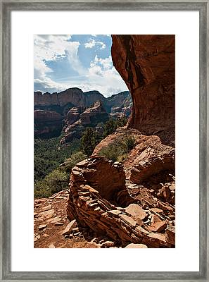 Boynton Canyon 08-160 Framed Print