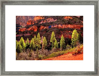 Boynton Canyon Framed Print