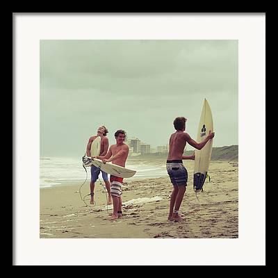 Kahuna Beach Framed Prints