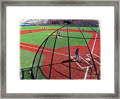 Boys Of Summer Framed Print by Wayne Gill