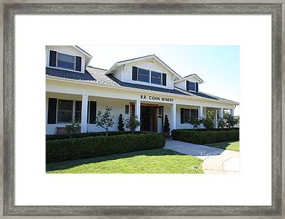 Br Cohn Winery In The Sonoma California Wine Country 5d24615 Framed Print by Wingsdomain Art and Photography
