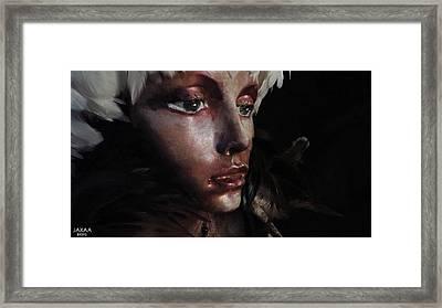 Br595 Framed Print