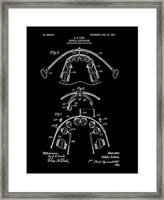 Braces Patent Framed Print