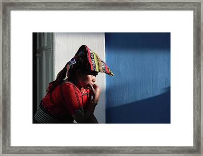 Bracing For Increased Deportations And Framed Print by John Moore