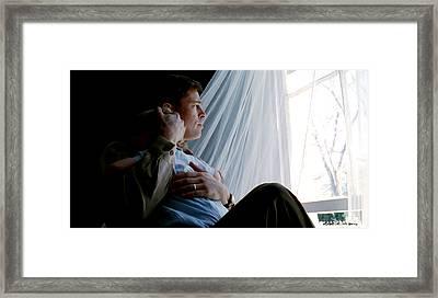 Brad Pitt In The Film The Tree Of Life Framed Print