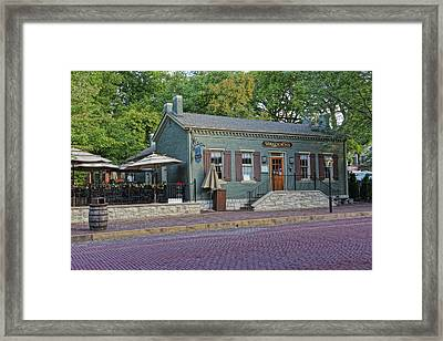 Braddens Main Street St Charles Mo Dsc00874  Framed Print by Greg Kluempers