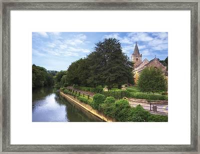 Bradford On Avon Framed Print