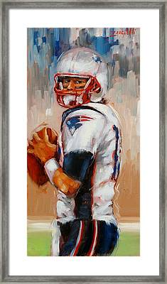 Brady Boy Framed Print