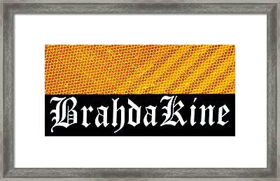 Brah Da Kine  Framed Print by Karon Melillo DeVega