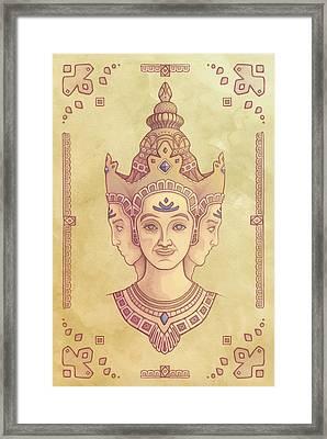 Brahma Framed Print