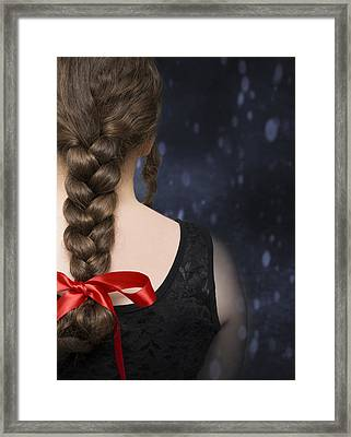 Braided Hair Framed Print by Amanda Elwell