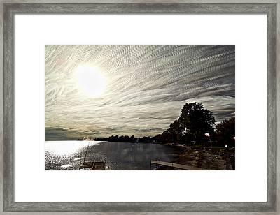 Braided Sky Framed Print by Matt Molloy