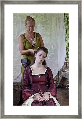 Braids Framed Print by Charles Warren