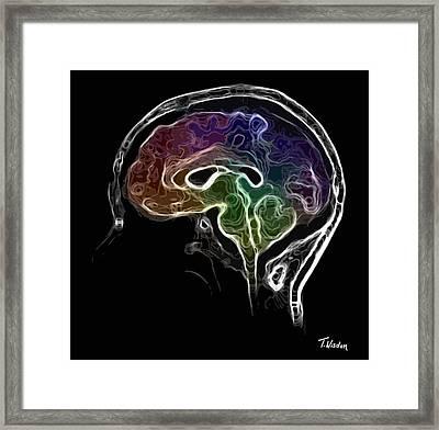 Brain And Mind Framed Print