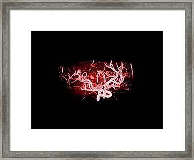 Brain Arteries Framed Print