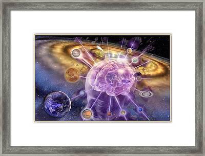 Brain Focus Framed Print by Freddy Kirsheh