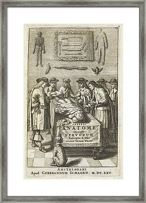 Brain Surgery Framed Print by British Library