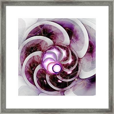 Brain Waves Framed Print by Anastasiya Malakhova