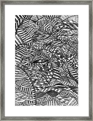 Brain Waves Framed Print
