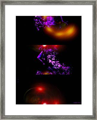 Brainscan Of The Duchess Of Cabbage In Labor Part One Framed Print by Sir Josef - Social Critic -  Maha Art