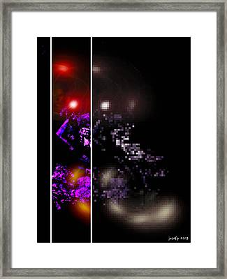 Brainscan Of The Duchess Of Cabbage In Labor Part Three Framed Print by Sir Josef - Social Critic -  Maha Art