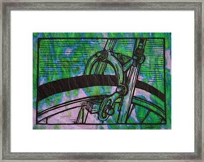 Brake Framed Print