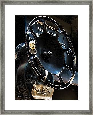Braking Framed Print by Wendy J St Christopher