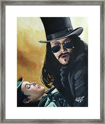 Bram Stoker's Dracula Framed Print by Tom Carlton