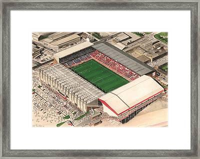 Bramall Lane - Sheffield United Framed Print